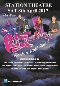 the new ace tones 50s rock n roll band