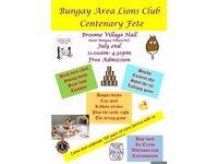 Bungay Lions Centenary Fete - Broome Village Hall