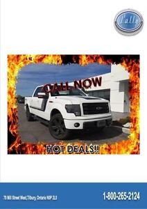 2014 Ford F-150 FX4, Moonroof, Navigation, One owner!