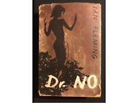 FIRST EDITION 1958 James Bond Dr. No by Ian Fleming
