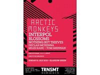 2 tickets trnsmt arctic monkeys