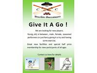 Local Cricket Club looking for players of all ages