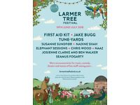 LARMER TREE FESTIVAL WEEKEND TICKETS £125