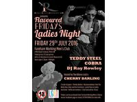 Rhodium Events Management Ltd is hosting Fareham's biggest Ladies night in aid of Cancer Research UK