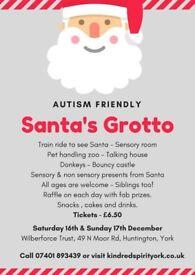 Autism Friendly Santa's Grotto - York