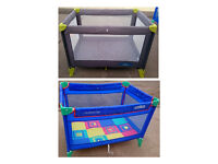 Travel Cots 2 in Excellent Condition