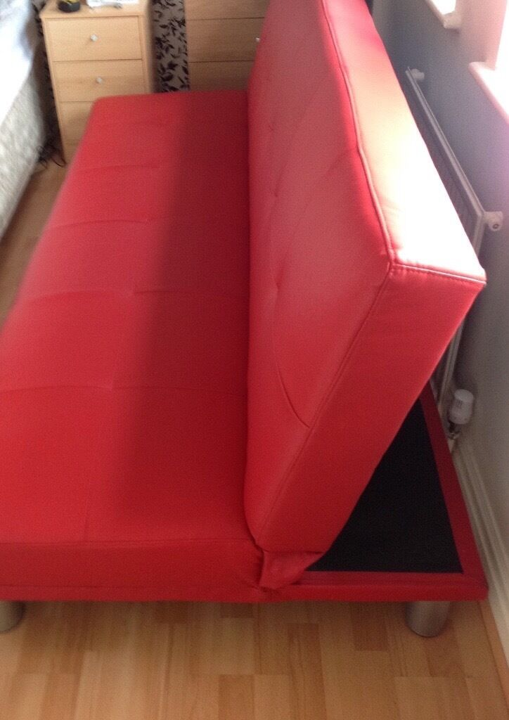 red sofa bed   futon 6ft 6 x 4ft good condition   30 00 ono red sofa bed   futon 6ft 6 x 4ft good condition   30 00 ono   in      rh   gumtree