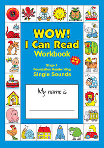 Wow! I Can Read Writing Workbook - Stage 1 - Handwriting Learn to Read and Write