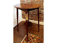 Beautiful Mahogany Antique Side/Window Table - We can deliver