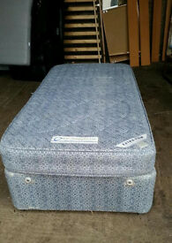 Blue Single Divan Bed