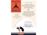 Spread Your Wings with Pilates in Harmony | Private ~ Small Group ~ Workplace Pilates ~ Online