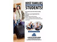 Host families needed for international students from all across the London