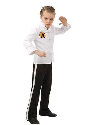 Jungen Kind Lizenziert Karate Kid Kostüm (Karate Kid Kostüm Kind)