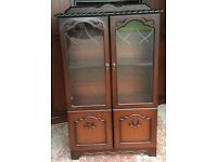 Wardrobe bedside lockers bookcase and table