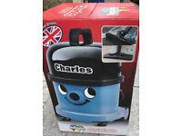 Charles CVC370 Numatic Henry Trade Professional Wet & Dry Hoover Vacuum Cleaner 230V