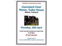 Coach Trip To Llancaiach Fawr Manor Tudor House, Nelson, Treharris