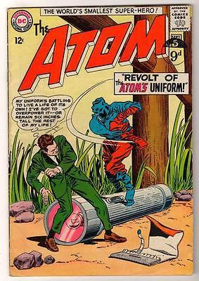 DC Comics ATOM  Silver age #14 1964 VG+  Kane cover