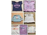 Girls tops 12-18 Months £1 each or £5 for all