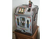Rare 1931 Jennings Victoria machine. Fully restored. Complements vintage jukebox