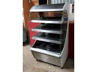 Stainless Steel Hot Food Display Cabinet Shop Bakery Canteen Catering