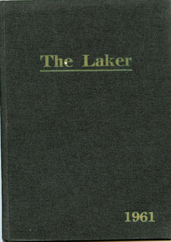 Original 1961 Yearbook-Melrose Township Minnesota - Boyle School Dist -The Laker