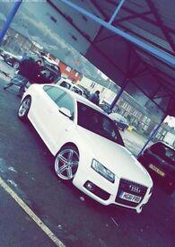 Audi a5, White, Quattro, S Line, Sportback, One previous Owner.