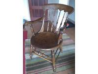 Carver armchair: antique / vintage