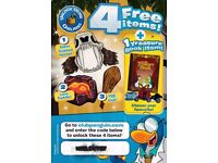 4 Free Club Penguin Items