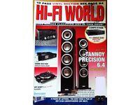 HI-FI WORLD TANNOY PRECISION 6.4 / MERIDIAN DIRECTOR DAC / SAMSUNG SOUND BAR +