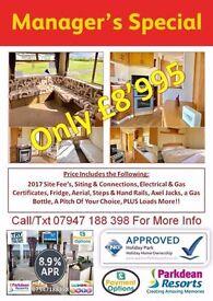 🌟STARTER 3 BED STATIC CARAVAN FOR SALE ON NORTHUMBERLAND COAST Nr AMBLE WHITLEY CRESWELL BERWICK🌟