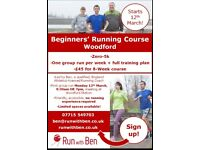 ***Beginner Running Course in Woodford, starts 12th March! Zero to 5k in 8 weeks. £45!***