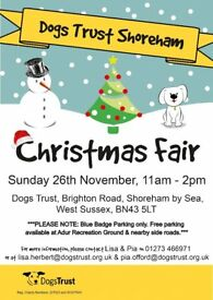 Dogs Trust Shoreham Christmas Fair