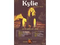 2 standing tickets for Kylie. Bournemouth BIC