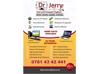 Dr Jerry PhD Computer Engineer - Laptop & Computer Repair