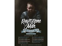 4x Rag n Bone Man standing tickets, O2 Brixton Academy London, Saturday 25th November 2017