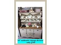 Vintage , shabby chic , country kitchen Welsh dresser