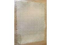 Cane webbing furniture rattan x 2