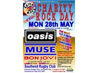 Charity Rock Day Bank Holiday Monday 28 May in support of HARP