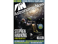 12 issues of Astronomy Now for 2017 - immaculate