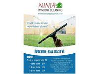 Ninja Window Cleaning / Cleaner , Cambridge, Waterbeach, Histon, Milton, Traditional , Pure water
