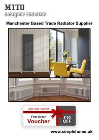 Mito Designer Radiators - Various Column Shapes, Sizes and Colours - For Sale
