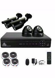 Kare 4 Channel CCTV system with 4 cameras