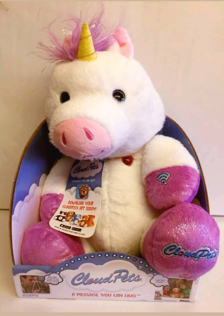 Cloud Pets 36cm Interactive Soft Girls Toy - Unicorn | in Manchester |  Gumtree