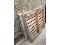 FREE! 2 Wooden Pallets