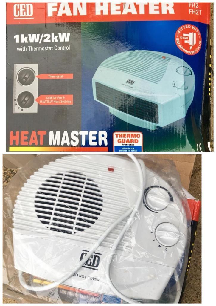 FH2T Fan Heater 2KW with Thermostat