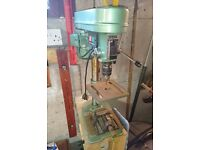 Nutool 5 Speed drill press/pillar drill, model CH10. In working condition, used.