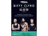 BIFFY CLYRO TICKETS GLASGOW 2 available