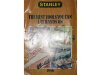 STANLEY TOOLS SMALL BROCHURE of Tools and prices 1986 (Memorabilia)