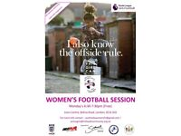 FREE INDOOR women's football skills and game session