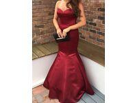 Bespoke Size 8 Fish Tail Prom dress